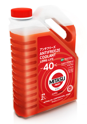 Антифриз MITASU RED LONG LIFE ANTIFREEZE/COOLANT -40C